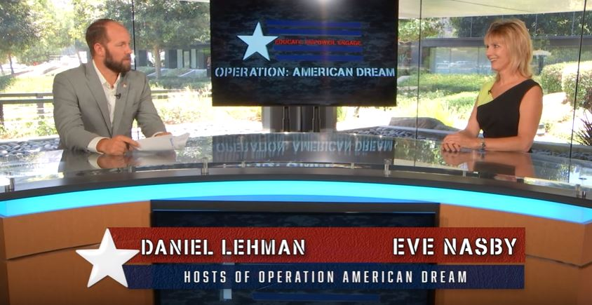 Operation American Dream September 9, 2016 with Eve Nasby & Daniel Lehman