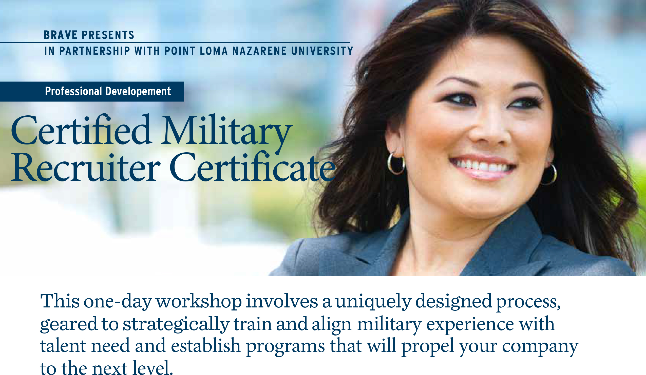 Certified Military Recruiter Training