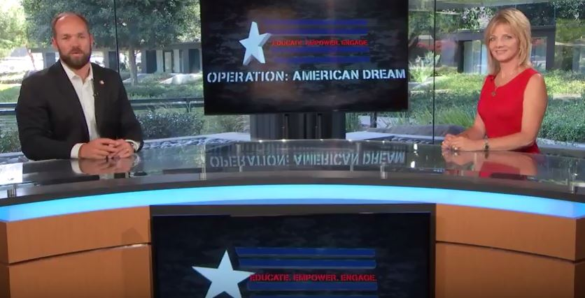 Operation American Dream October 21, 2016 with Eve Nasby & Daniel Lehman